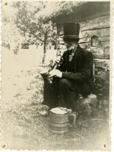 Talu viimane peremees Jakob Reht (1886–1969). Foto: Mihkli Talumuuseum