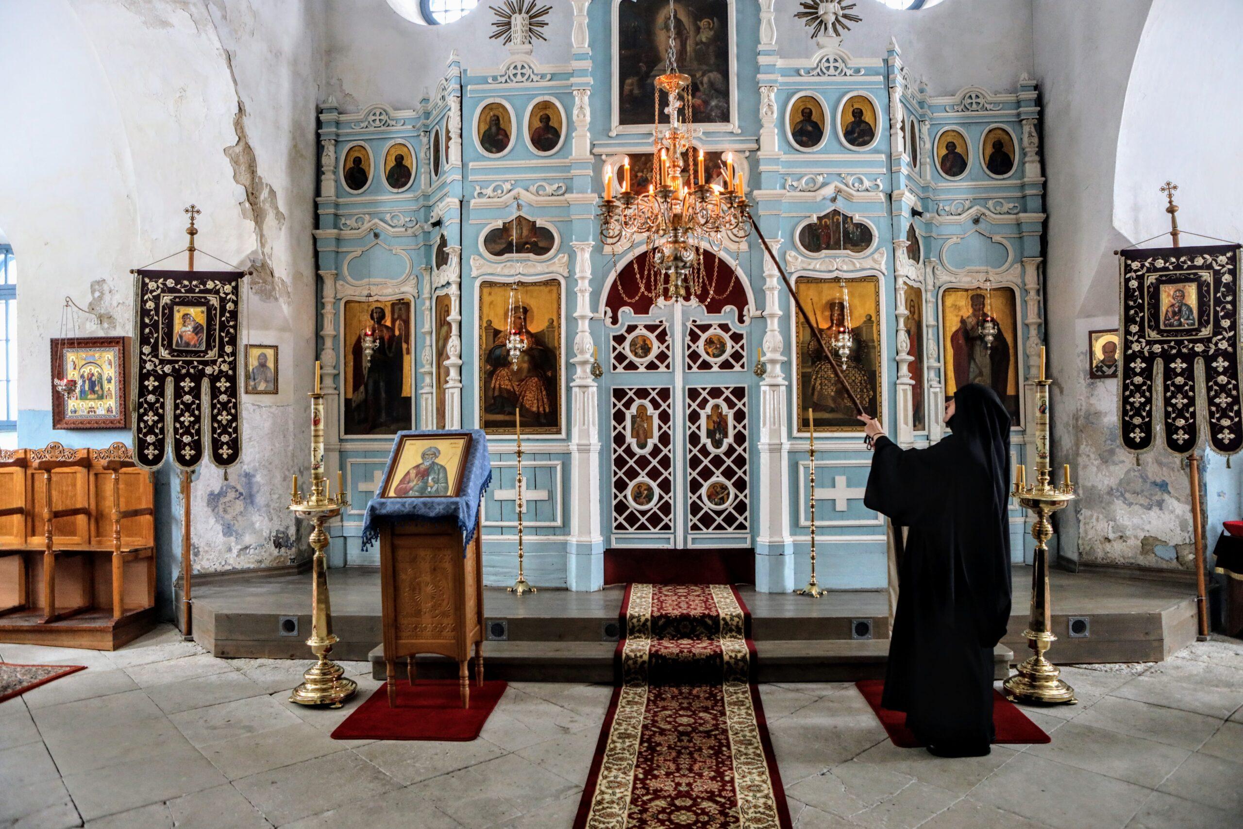 Püha Eelkäija Skiita Reomäel. Foto: Margit Kõrvits