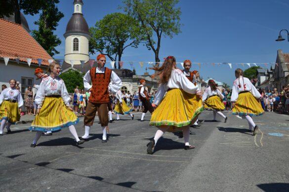 Kuressaare Tänavafestival. Foto: Allan Mehik