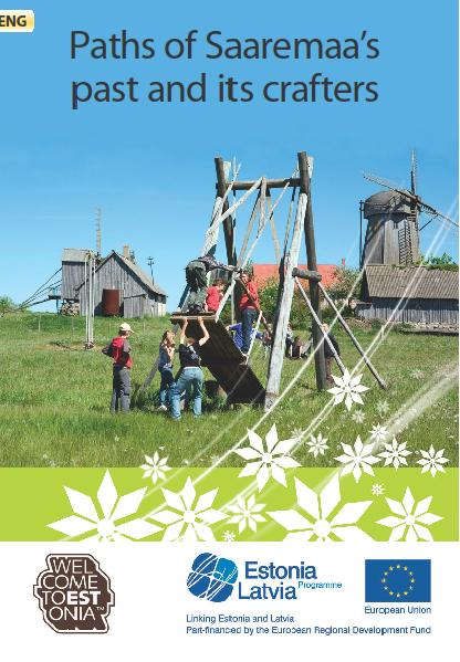 "Flaier ""Paths of Saaremaa past and it's crafters"" cover"