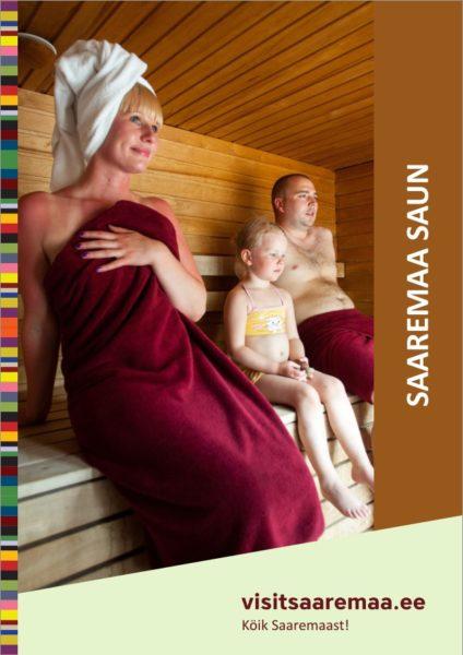 Trükise Saaremaa saun kaanefoto