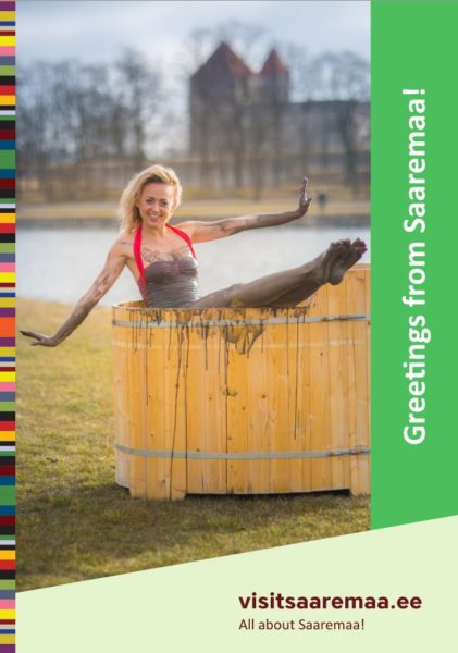 """Brochure """"Greetings from Saaremaa"""" cover"""