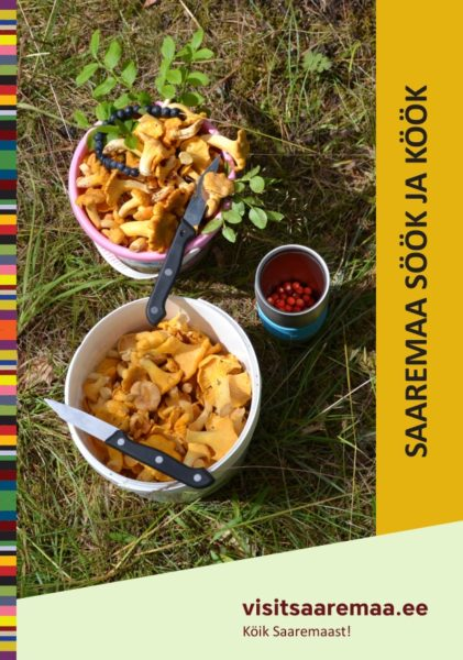 Trükise Saaremaa söök ja köök kaanefoto