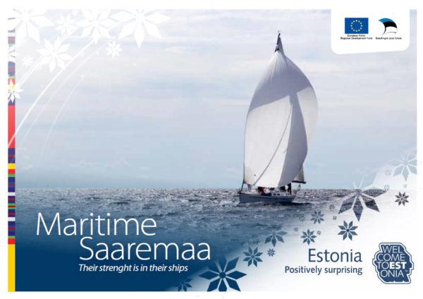 """Brochure """"Maritime Saaremaa"""" cover"""