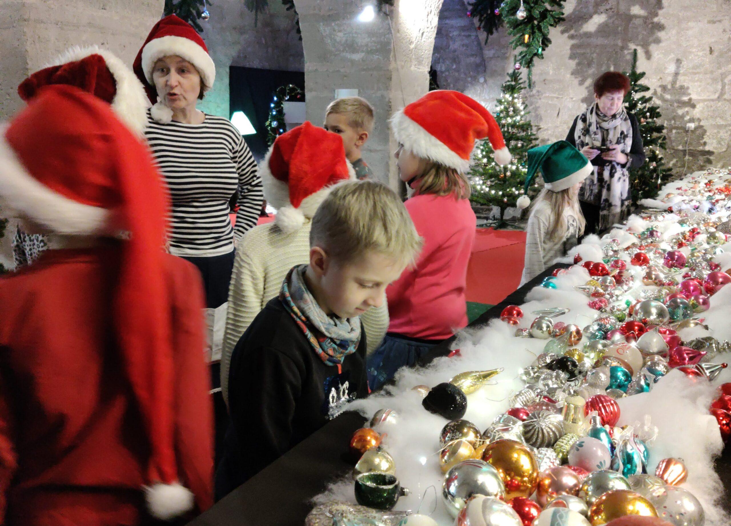 Kuressaare lossi jõulukaardi meistriklass - üks Saaremaa jõulumaadest
