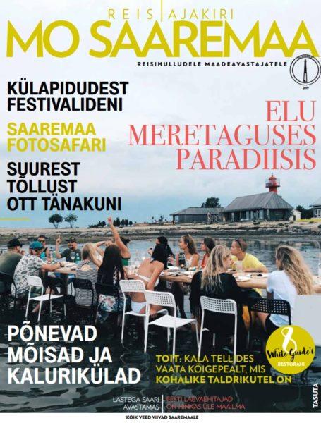 Reisiajakirja MO Saaremaa 2019 kaanefoto