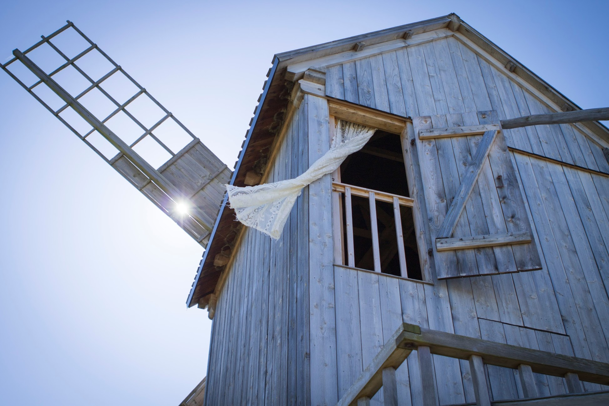 A fun accommodation on Saaremaa are the windmills