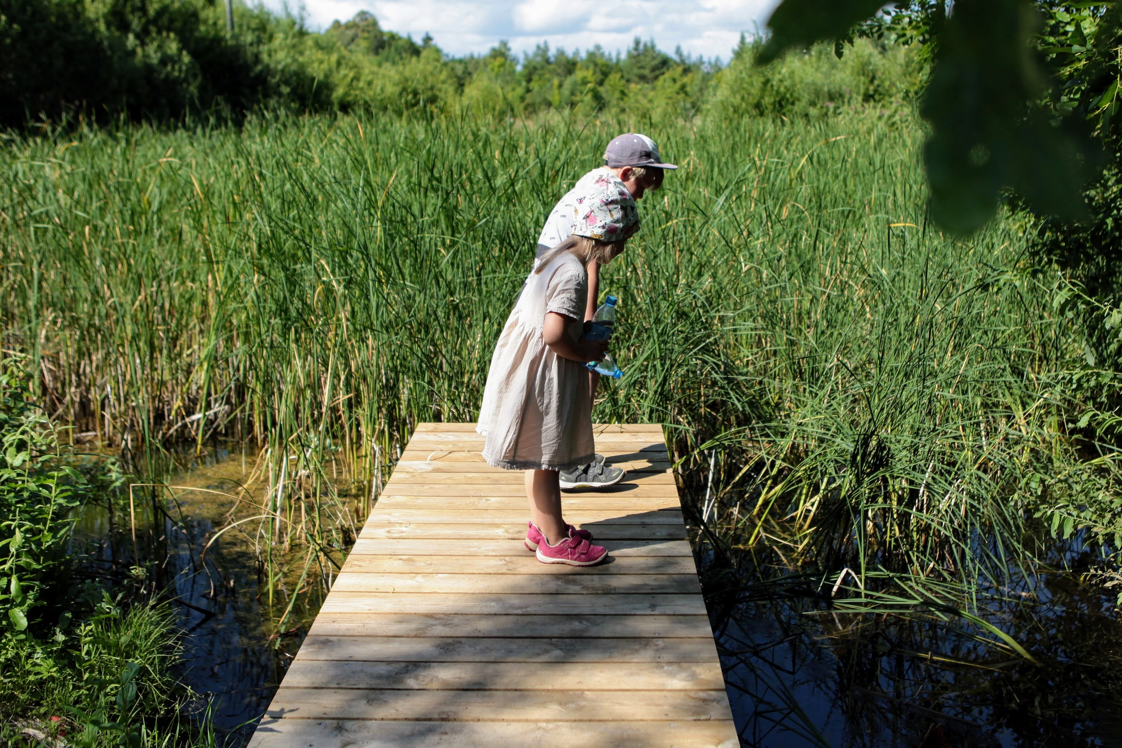 Saaremaa offers exciting hiking trails for children as well