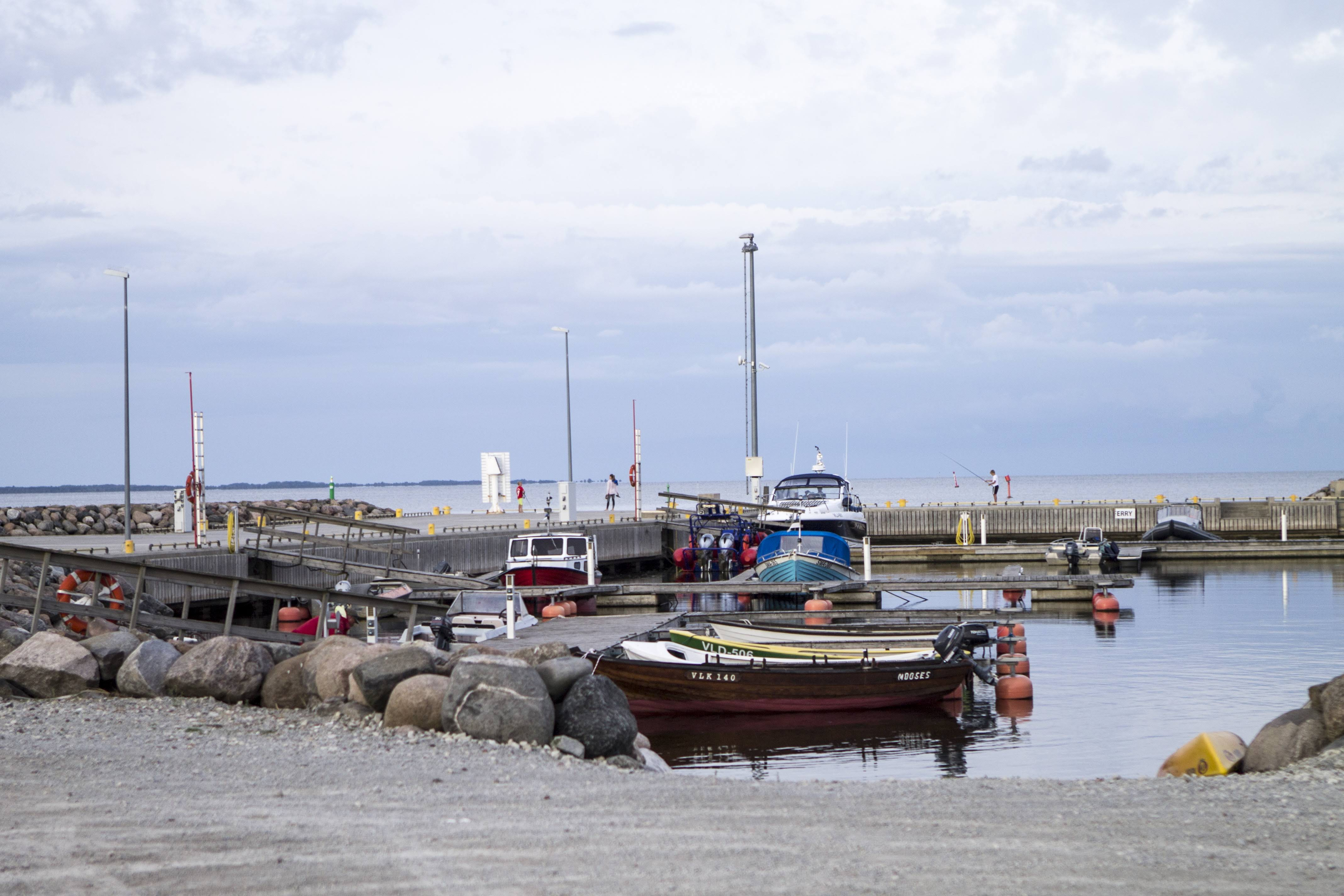 Transportation on Saaremaa by yacht