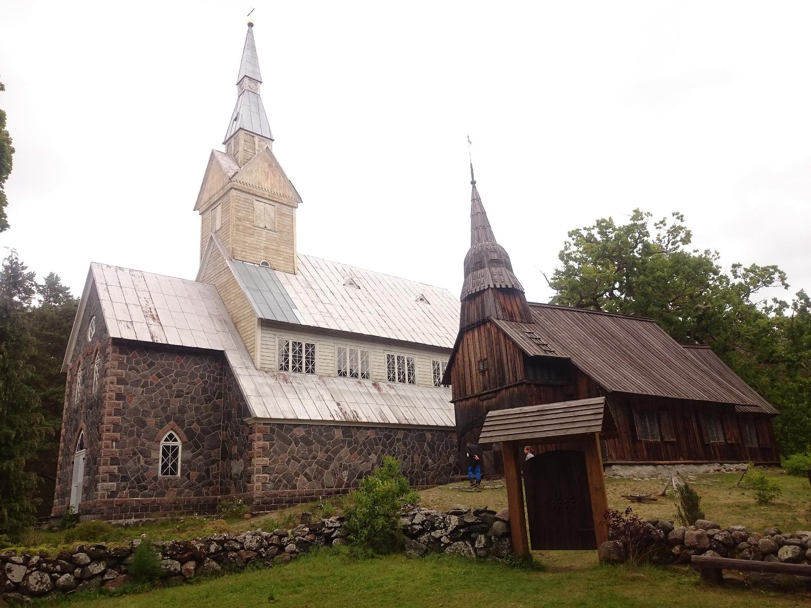 Ruhnu is one of the smaller islands around Saaremaa