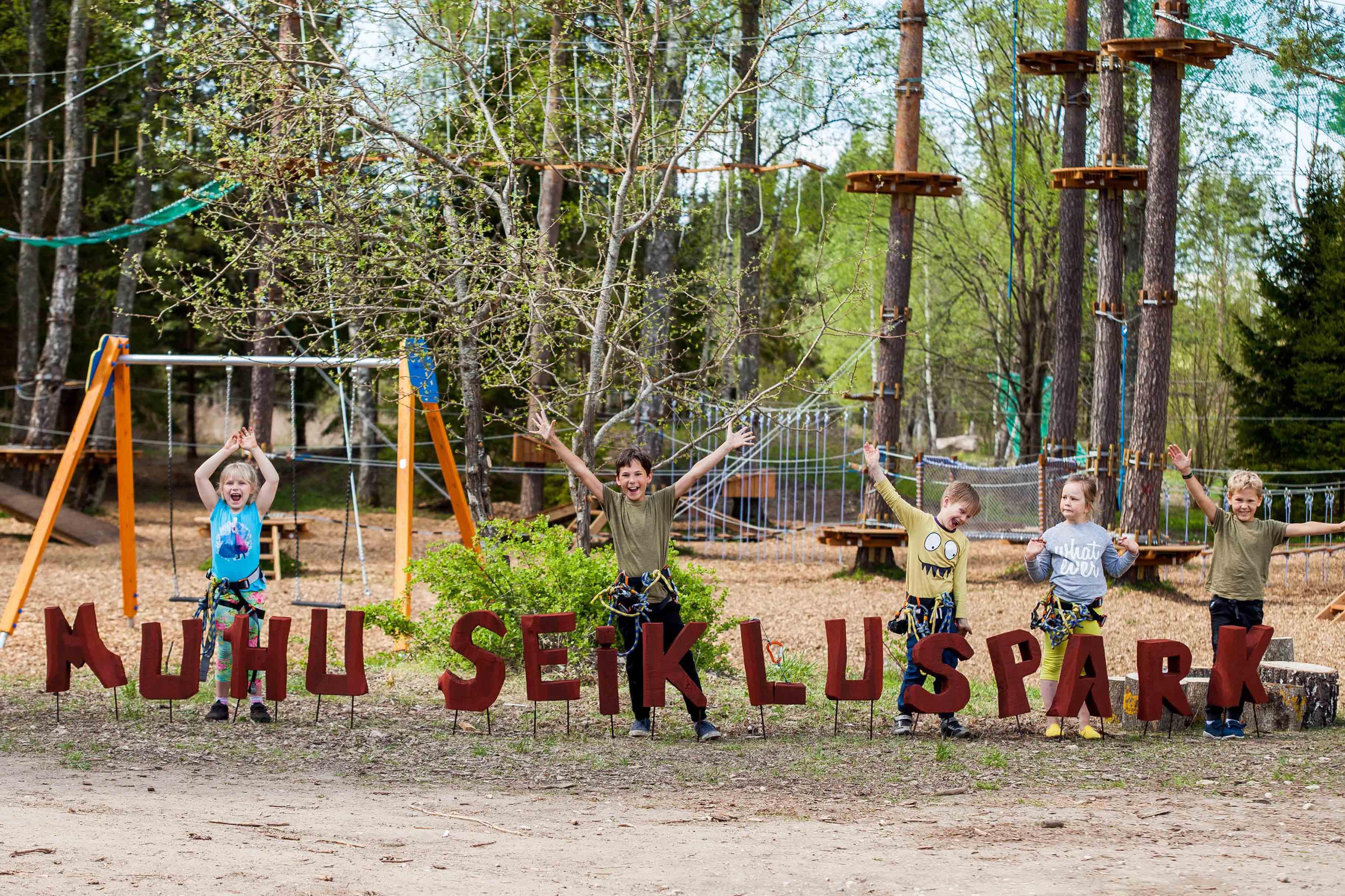 Seikluspargid on nii Saaremaal kui ka Muhus