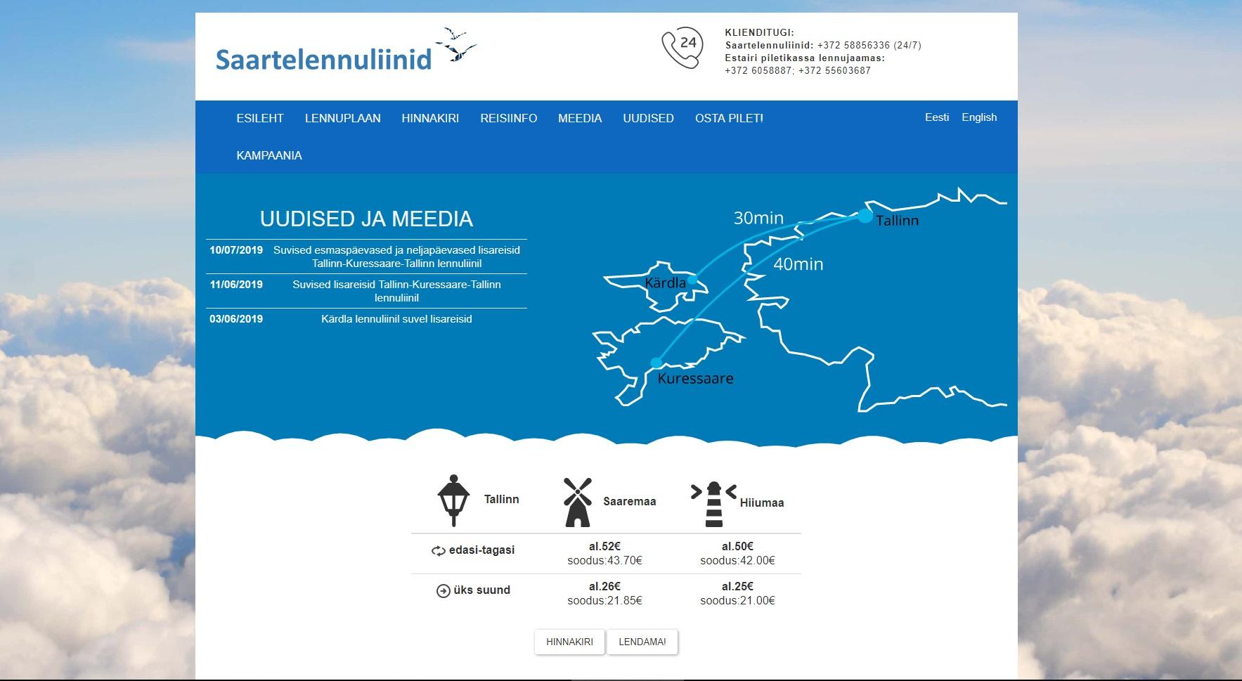 35274b4ff7b Kui tahad Saaremaale nüüd ja kohe, tule lennukiga. Saad kiiremini.  Lennukipiletite hinnad hakkavad 26 eurost. Lennuk käib kaks korda päevas ja  lennuaeg on ...