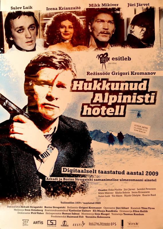 Hukkunud alpinisti hotelli plakat