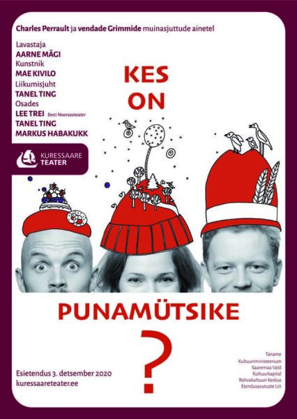 Punanmütsike Saaremaal Kuressaare Teater