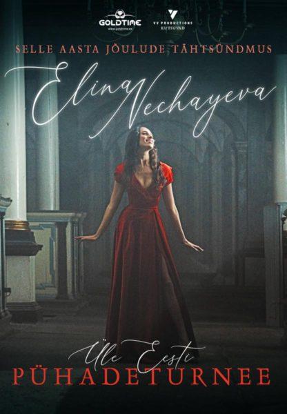 Elina Nechayeva jõulukontserti plajkat