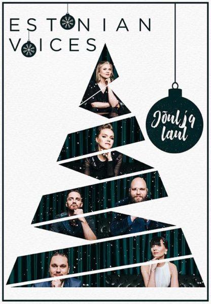 Estonian Voices kontserti Jõul ja laul plakat