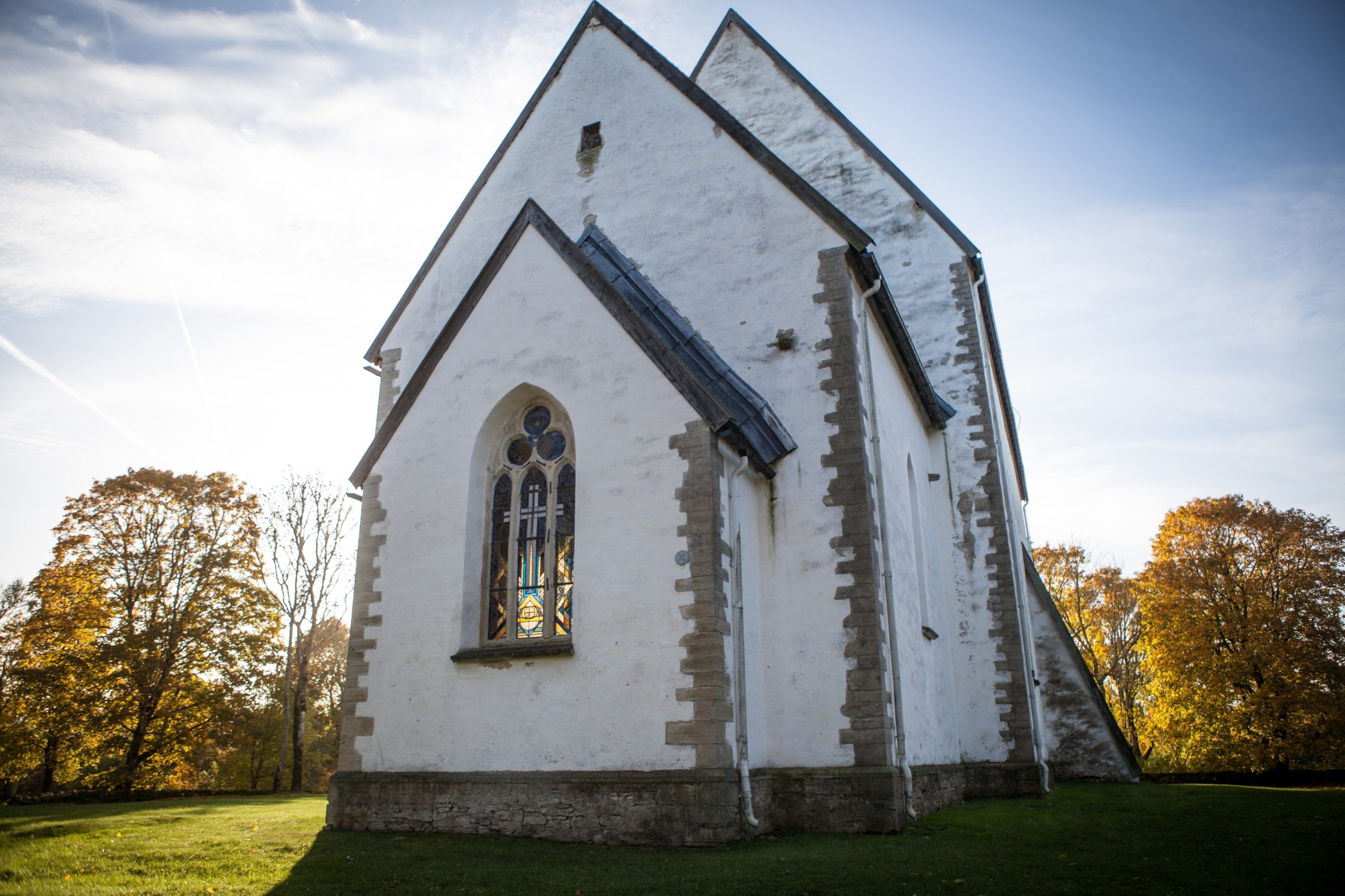 Muhu church is medieval church, there are seven in total in Saare county