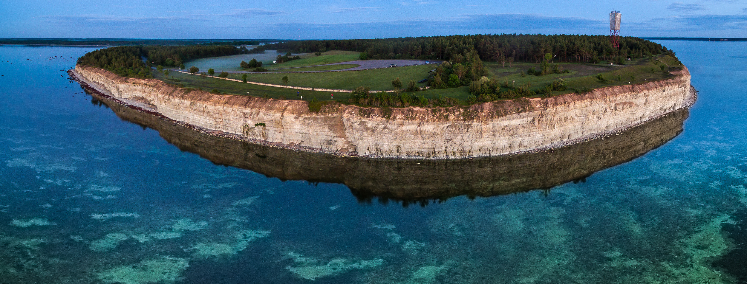 Panga bluff is the highest cliff in the West-Estonia and one of the best known Saaremaa attractions