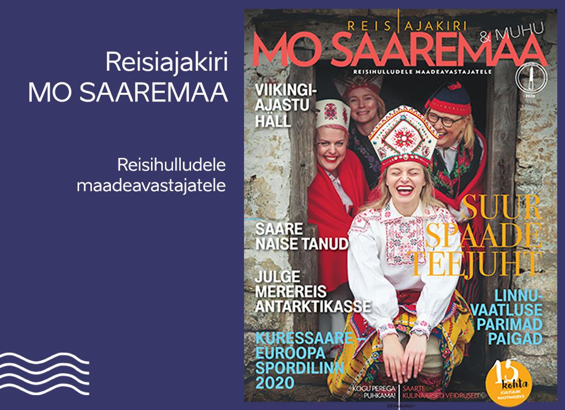 Reisiajakirja MO Saaremaa kaanefotot