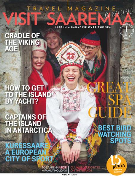 "Travel magazine ""Visit Saaremaa 2020"" cover"