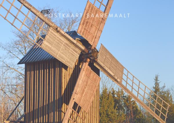 Saaremaa sümbol - tuulik
