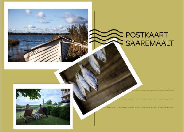 Postkaart Saaremaalt üleskutse näidis