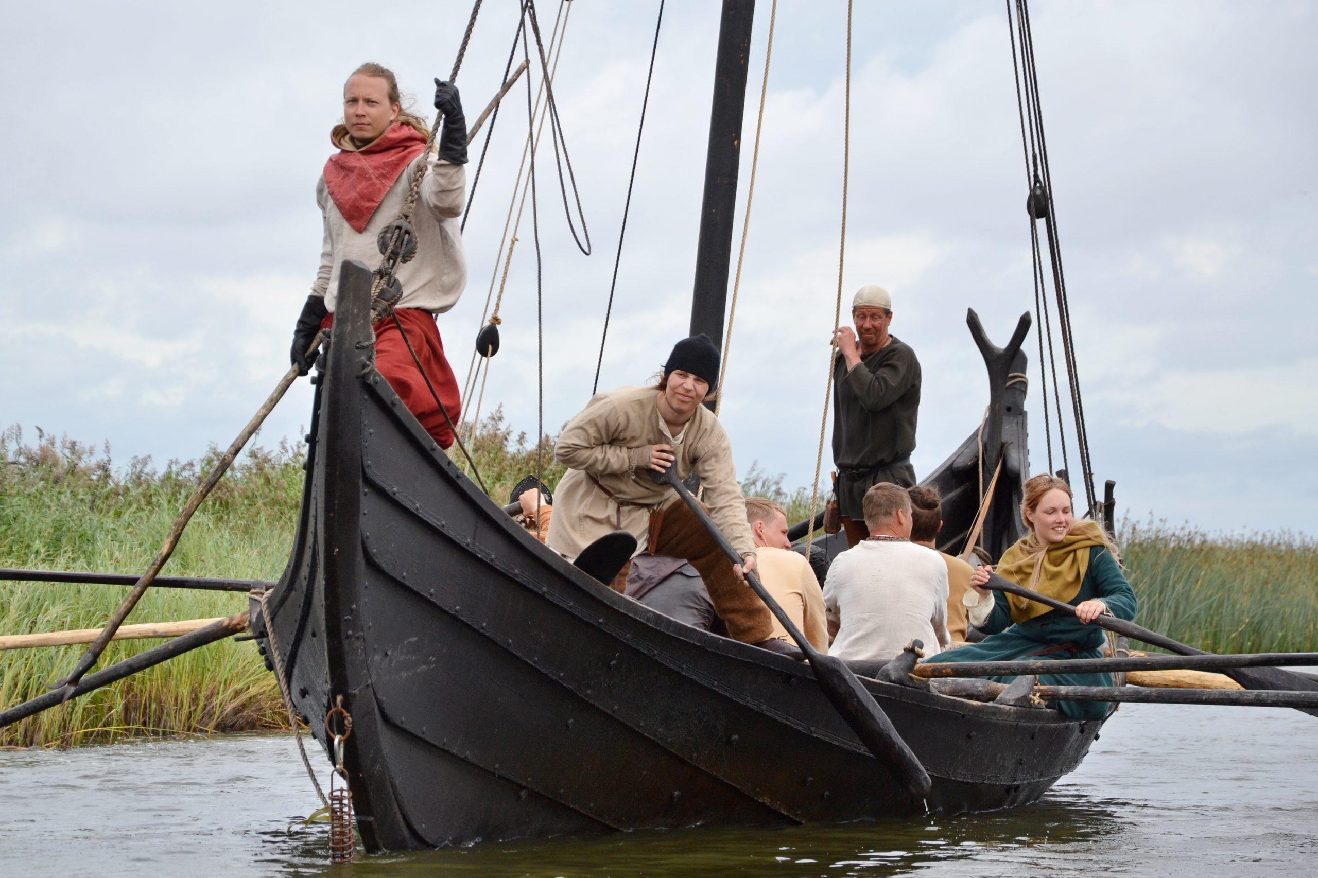 Salme viikingiturgu peetakse augusti keskel