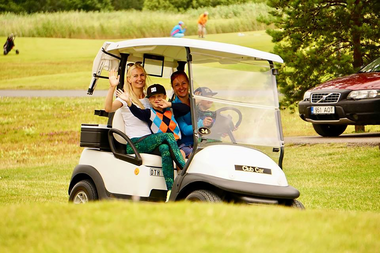 Golf on tore hovi tervele perele