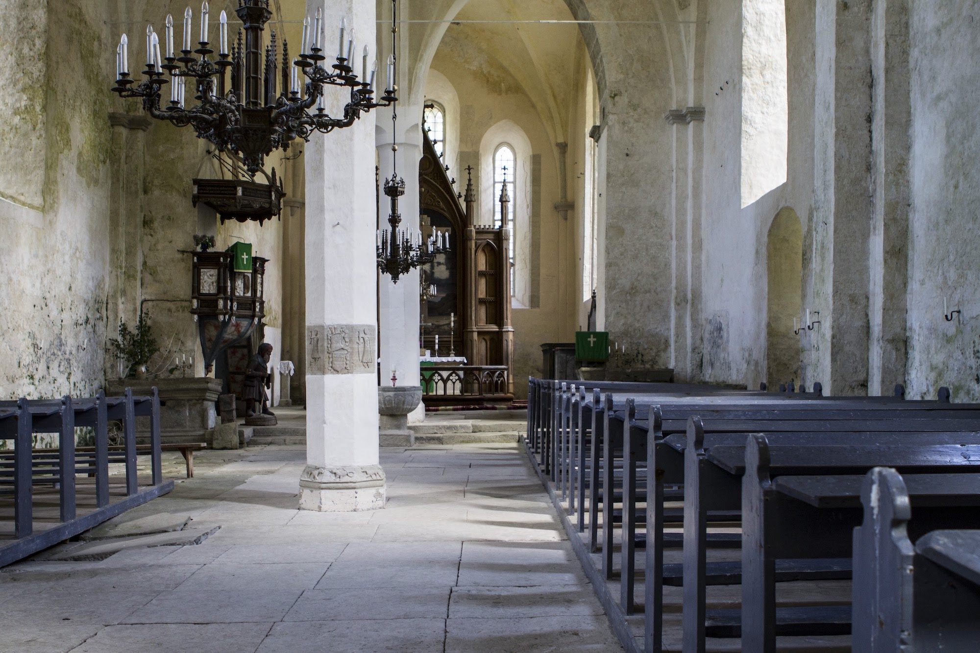 Saaremaal on seitse keskaegset kirikut