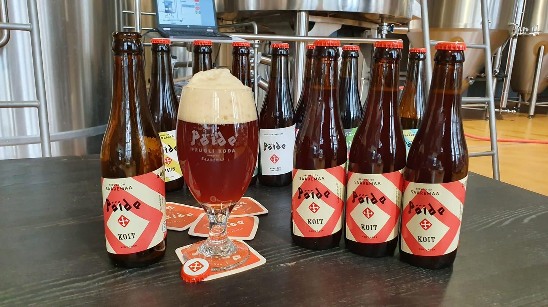 Pöide Beer teeb mitut erinevat kasitööõlut