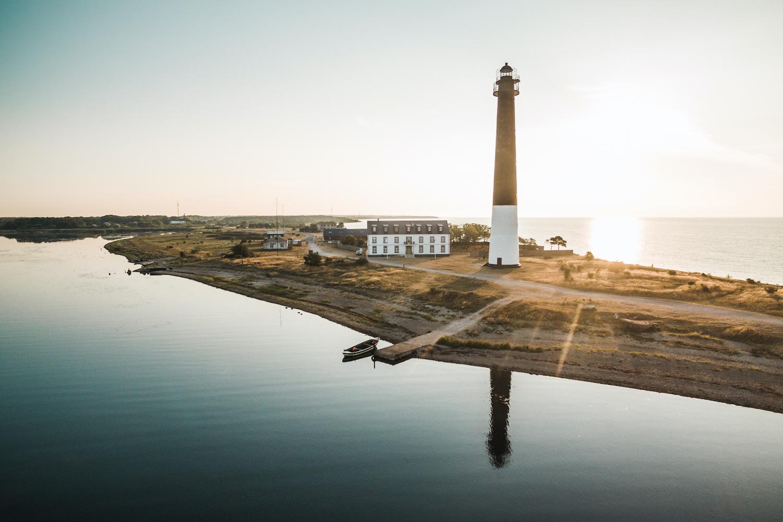 Sõrve tuletorn Saaremaal ümbermaailmareisil