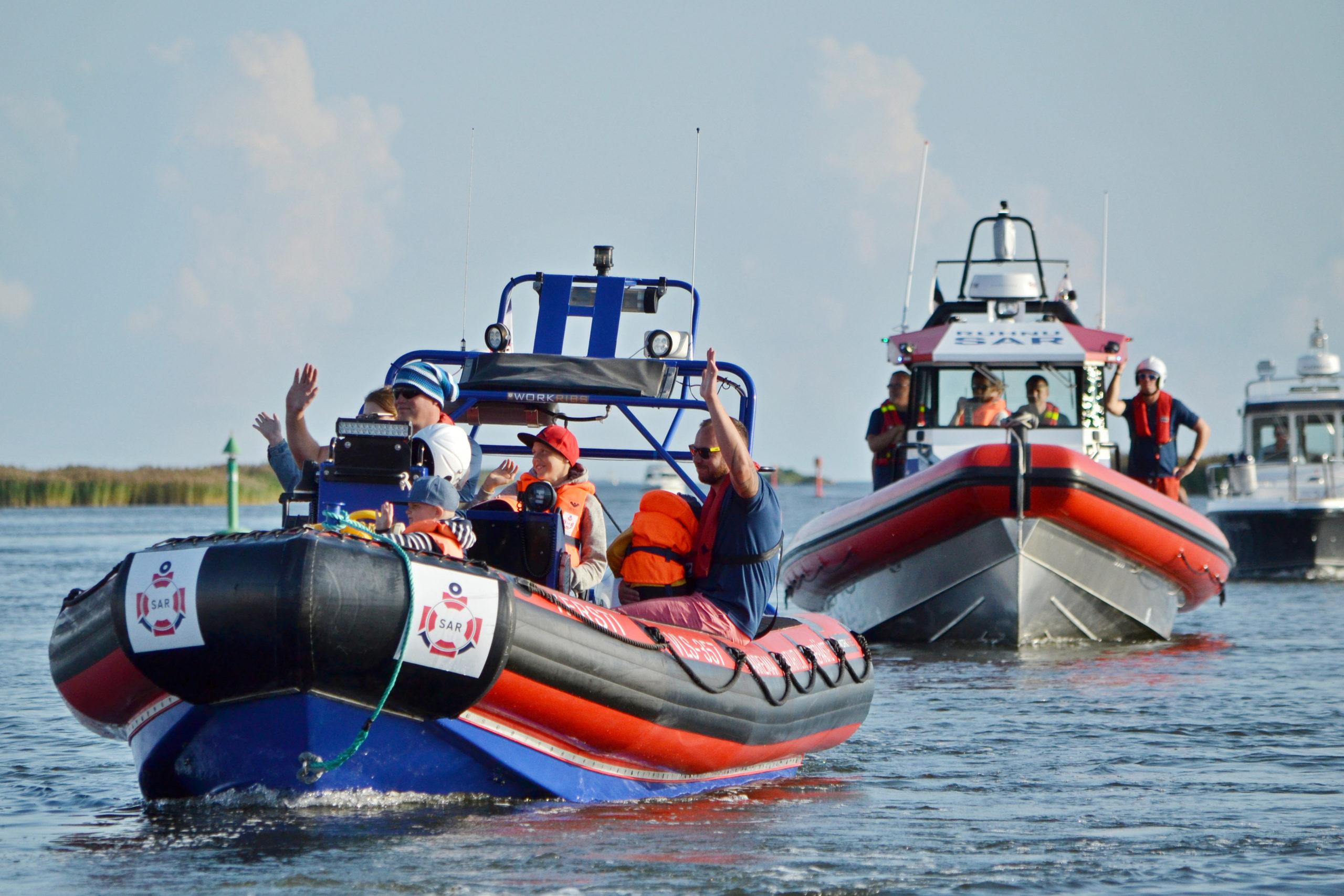 Merepääste aitab politseinikke merel