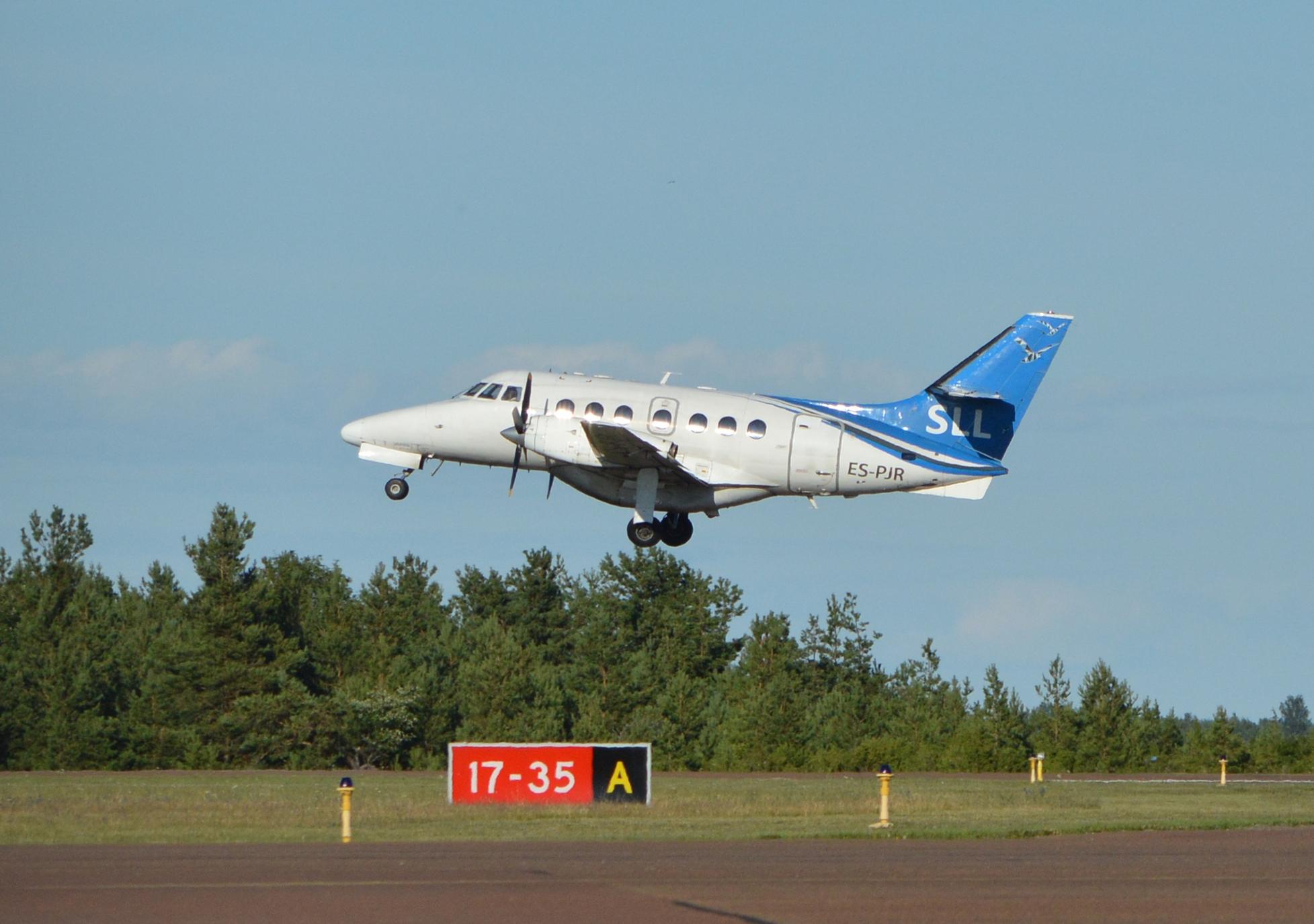 Kuressaare-Tallinn lend kestab 30 minutit ja maksab 26€