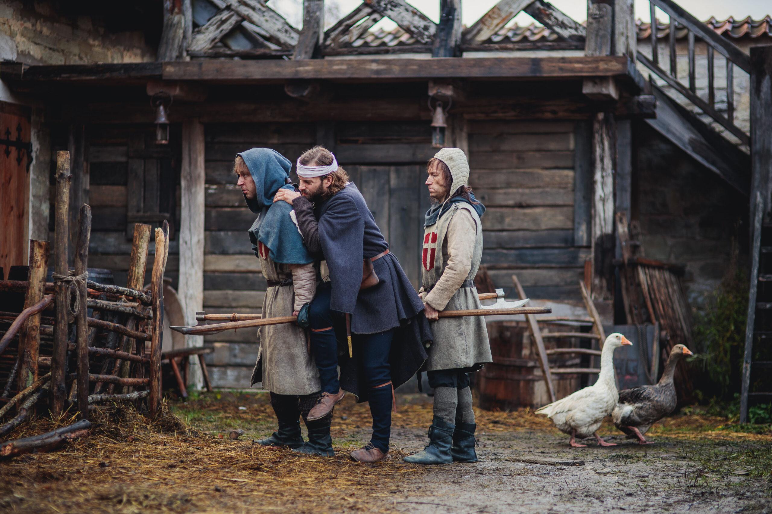 Apteeker Melchiori võtted Archebaldi keskajakeskuses. Kõige uuem Saaremaa tehtud film.
