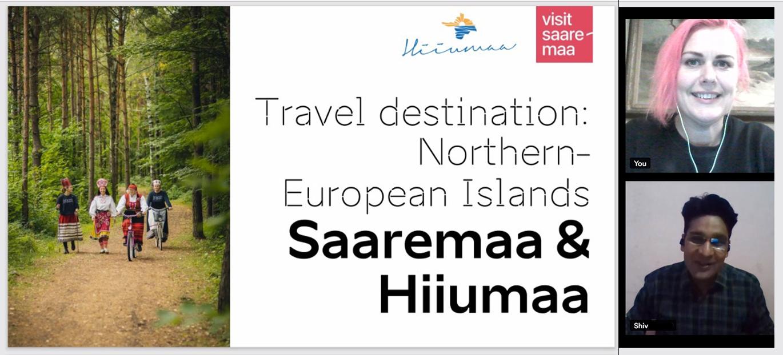 USA reisiettevõtjatele tutvustasid Saaremaa ja Hiiumaa end üheskoos