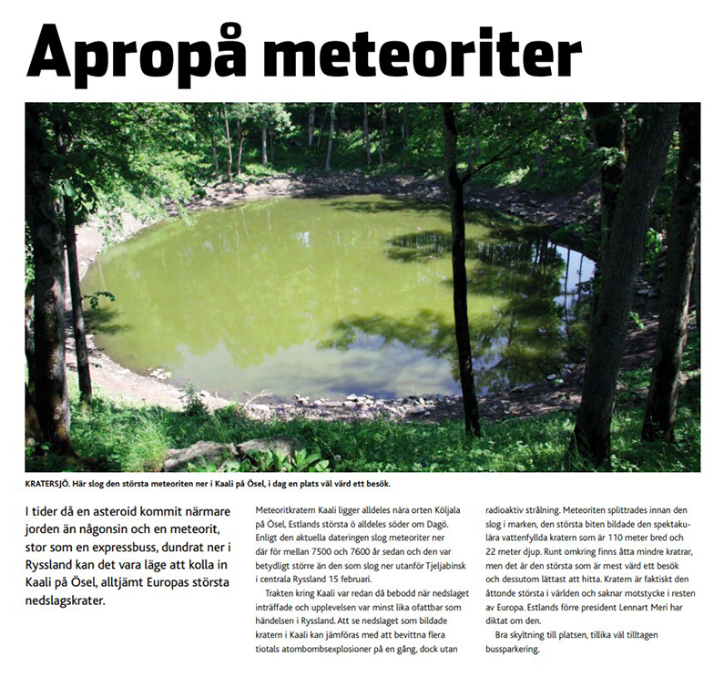 Saaremaast räägitakse ka norra keelsetes väljaannetes