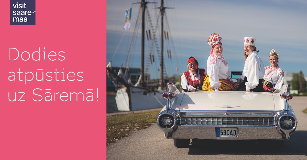 teretulemast saaremaale läti