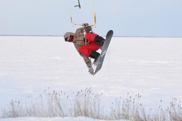 Mida Saaremaal talvel teha? Miks mitte lohesurf?
