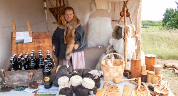 Saaremaa viikingiaasta üks tähtsündmusi on Salme viikingiturg