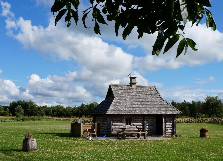 Vana saare saun on suitsusauna laadne saun