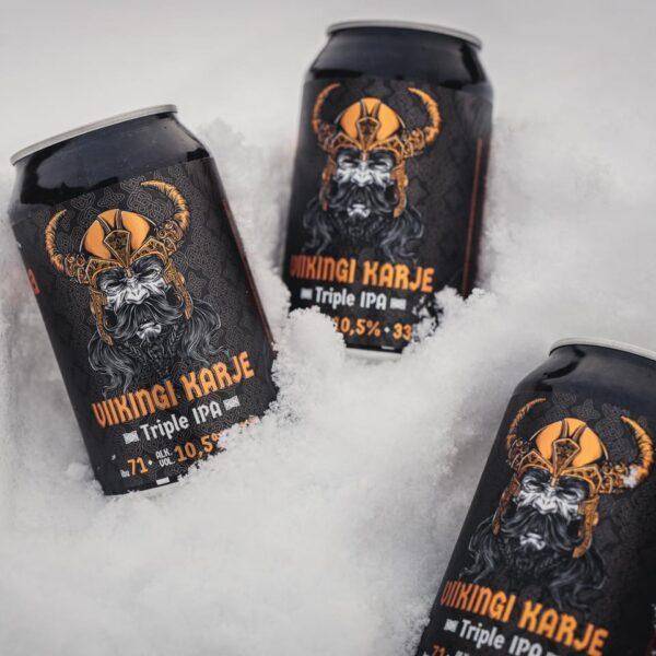 """Saaremaa viikingiaasta puhul andis Pihtla õlleköök välja eripruuli """"viikingi karje"""""""